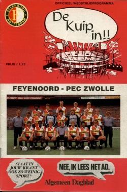 Programma Feyenoord - PEC Zwolle