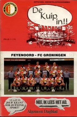 Programma Feyenoord FC Groningen