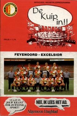 Programma Feyenoord - Excelsior