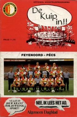 Programma Feyenoord - Pécs