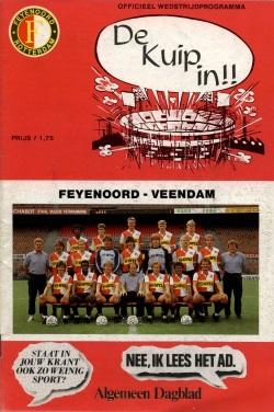 Programma Feyenoord - FC Veendam