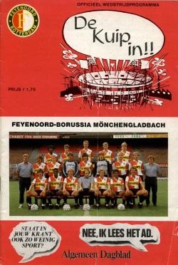 Programma Feyenoord - Borussia