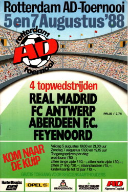 Programma AD Toernooi 1988