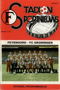 Stadion Sport Nieuws - 02 - Feyenoord - FC Groningen