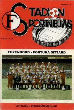 Stadion Sport Nieuws - 04 - Feyenoord - Fortuna Sittard
