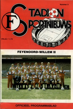 Stadion Sport Nieuws - 05 - Feyenoord - Willem II