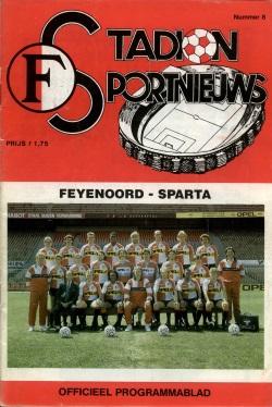 Stadion Sport Nieuws - 08 - Feyenoord - Sparta