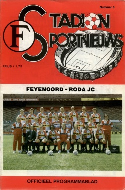 Stadion Sport Nieuws - 09 - Feyenoord - Roda JC