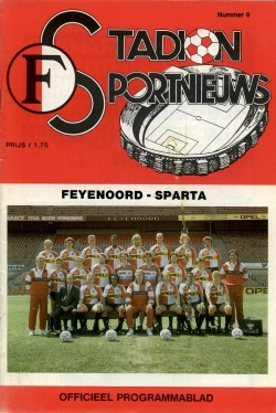 Stadion Sport Nieuws - 09 - Feyenoord - Sparta