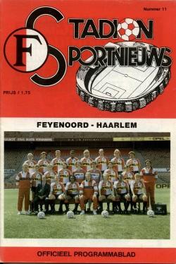 Stadion Sport Nieuws - 11 - Feyenoord - Haarlem
