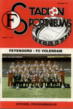 Stadion Sport Nieuws - 13 - Feyenoord - Volendam