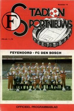 Stadion Sport Nieuws - 14 - Feyenoord - FC Den Bosch