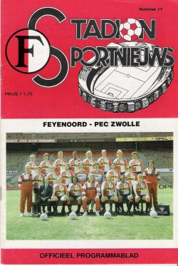 Stadion Sport Nieuws - 17 - Feyenoord - PEC Zwolle