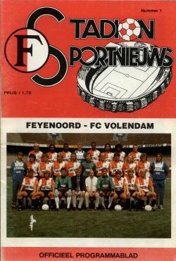 Stadion Sport Nieuws - 01 - Feyenoord - Volendam