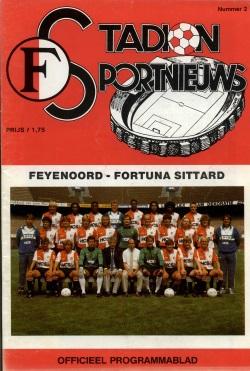 Stadion Sport Nieuws - 02 - Feyenoord - Fortuna Sittard