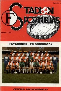 Stadion Sport Nieuws - 03 - Feyenoord - FC Groningen