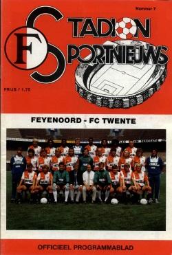 Stadion Sport Nieuws - 07 - Feyenoord - FC Twente