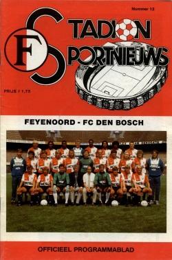 Stadion Sport Nieuws - 12 - Feyenoord - FC Den Bosch