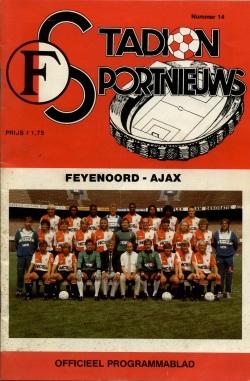 Stadion Sport Nieuws - 14 - Feyenoord - Ajax