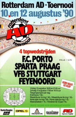 Programma Rotterdam AD Toernooi 1990