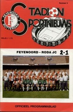 Stadion Sport Nieuws - 05 - Feyenoord - Roda JC