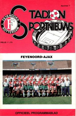 Programma Feyenoord - Ajax
