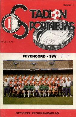 Programma Feyenoord - SVV