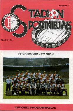 Programma Feyenoord - FC Sion