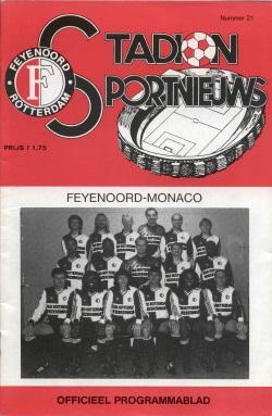 Programma Feyenoord - Monaco