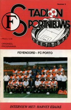 Programma Feyenoord - FC Porto