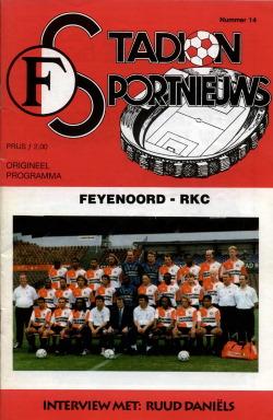 Programma Feyenoord - RKC