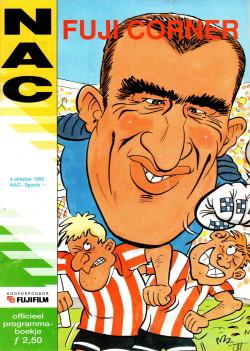 Programma NAC-Sparta 1995