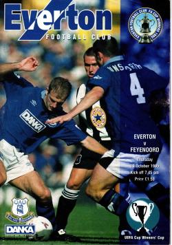 Programma Everton - Feyenoord