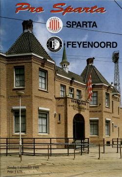 Programma Sparta - Feyenoord